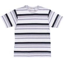 Load image into Gallery viewer, A Bathing Ape Grey Striped T-Shirt