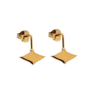 LeBlanc Jewellery gold mini eagle ray studs