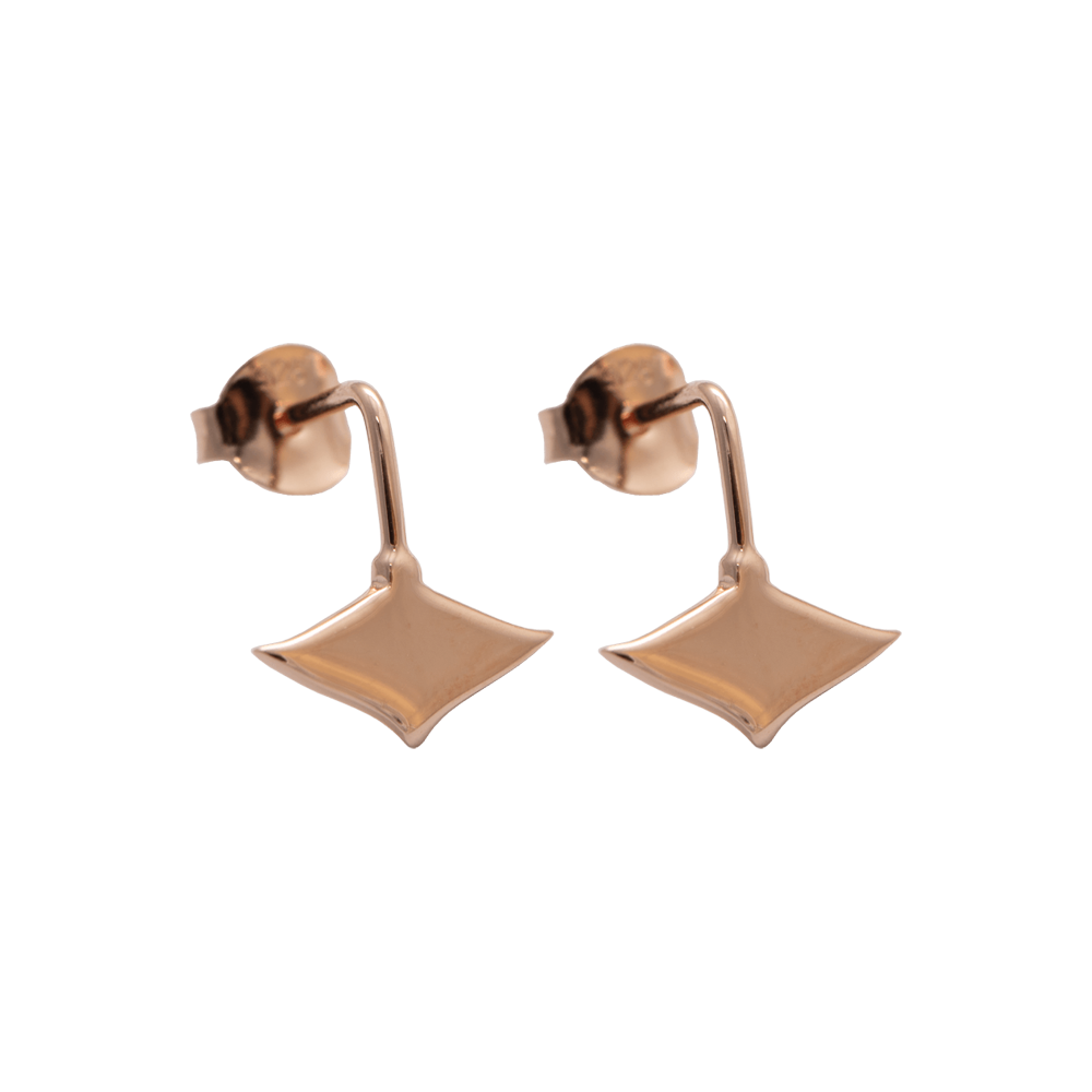 LeBlanc Jewellery rose gold mini eagle ray studs