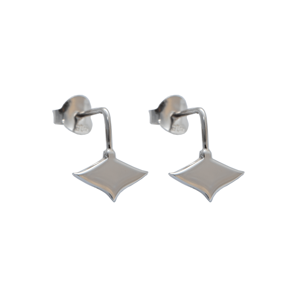 LeBlanc Jewellery silver mini eagle ray studs