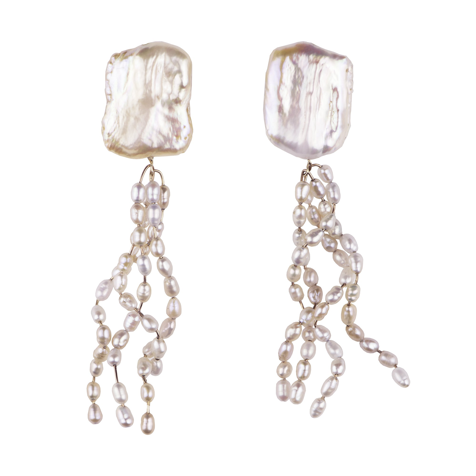 The Box Jelly Pearl Earring, LeBlanc jewellery