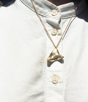 Gold Concha Necklace