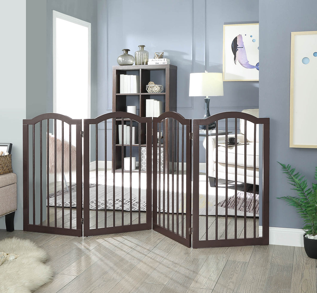 tall pet gate for dogs