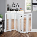 white dog gates indoor