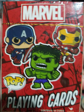 Marvel Pop Playing Cards