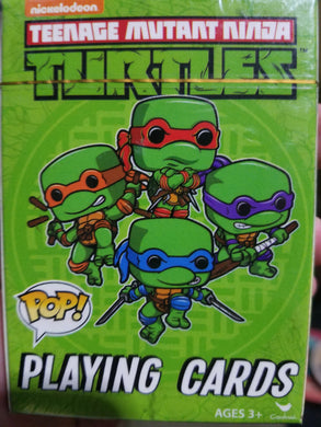 Ninja Turtles Pop Playing Cards