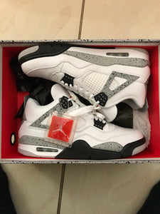 Jord Retro White Cement