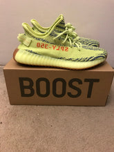 Load image into Gallery viewer, Yeezy 350 v2 Semi Frozen Yellow
