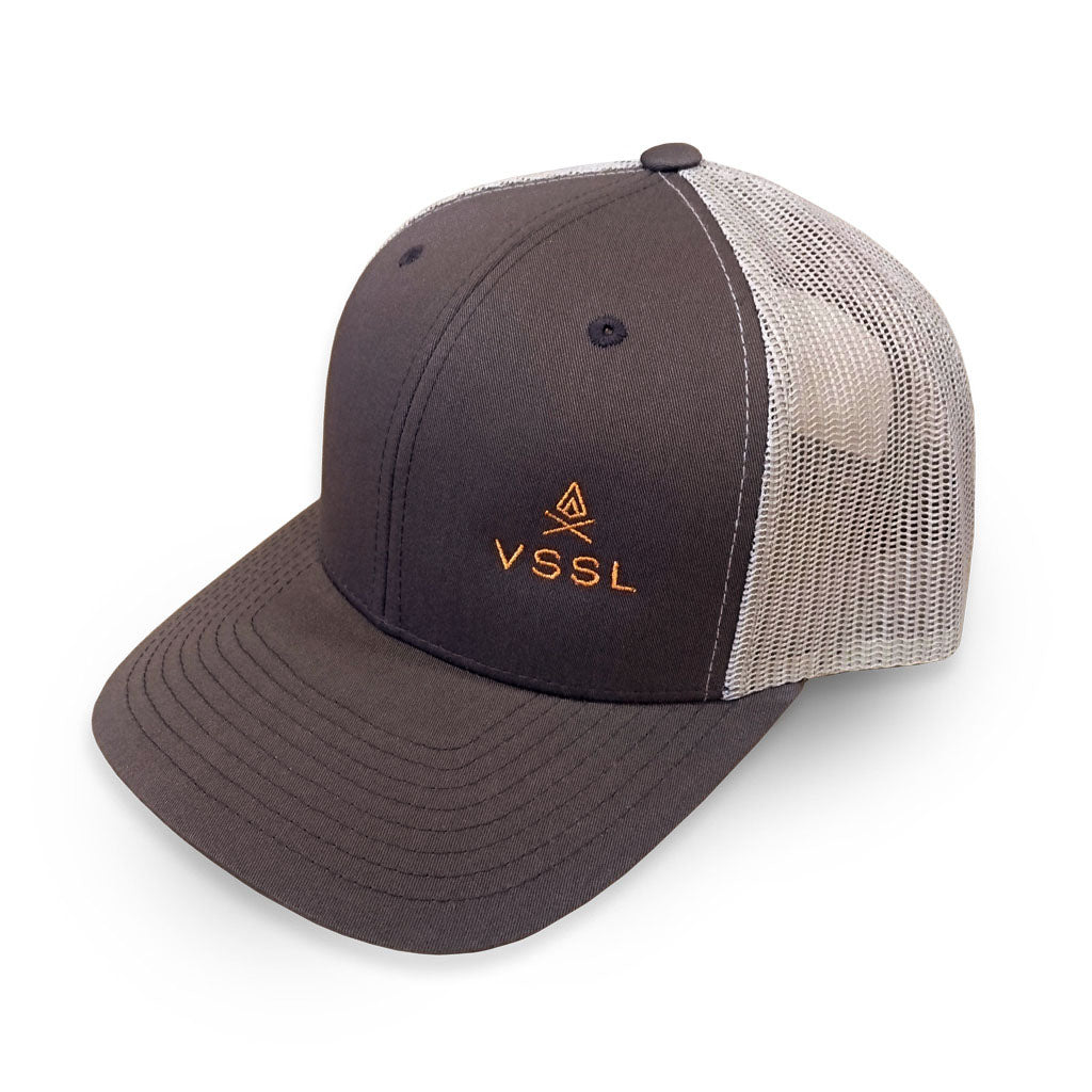VSSL Snap Back Hat - Brown/Khaki