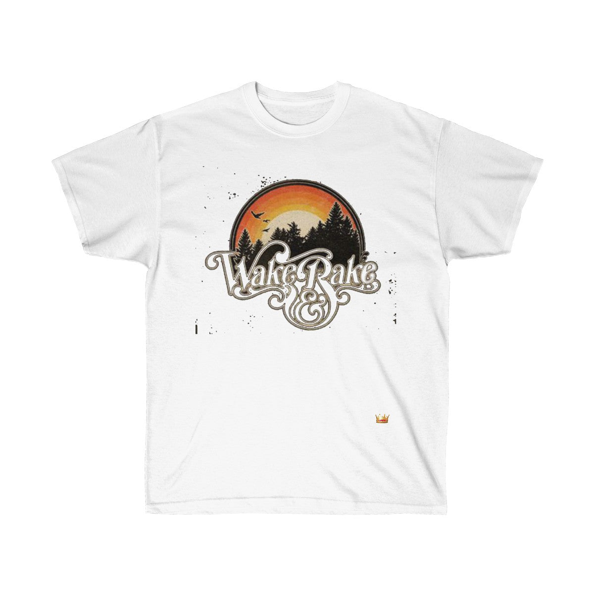 Wake and Bake Cotton Tee - LMPG Store