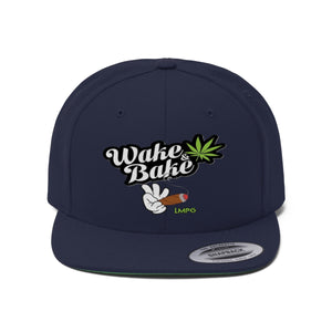 Wake and Bake Flat Bill Hat - LMPG Store
