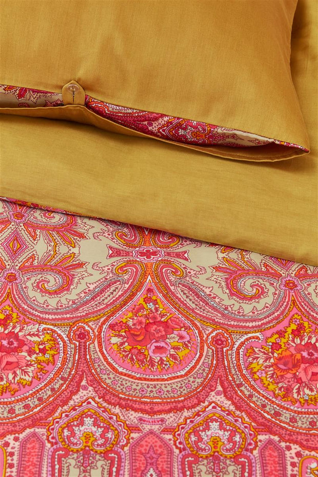 Duvet cover multi size Paisley Ovation Gold-Oilily-140x200/60x70(1)-Oilily.com