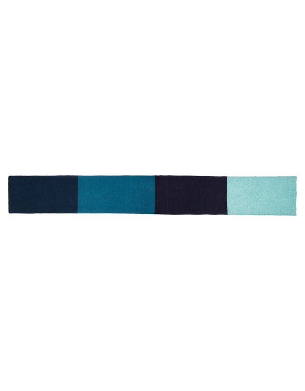 Arista scarf twilight blue