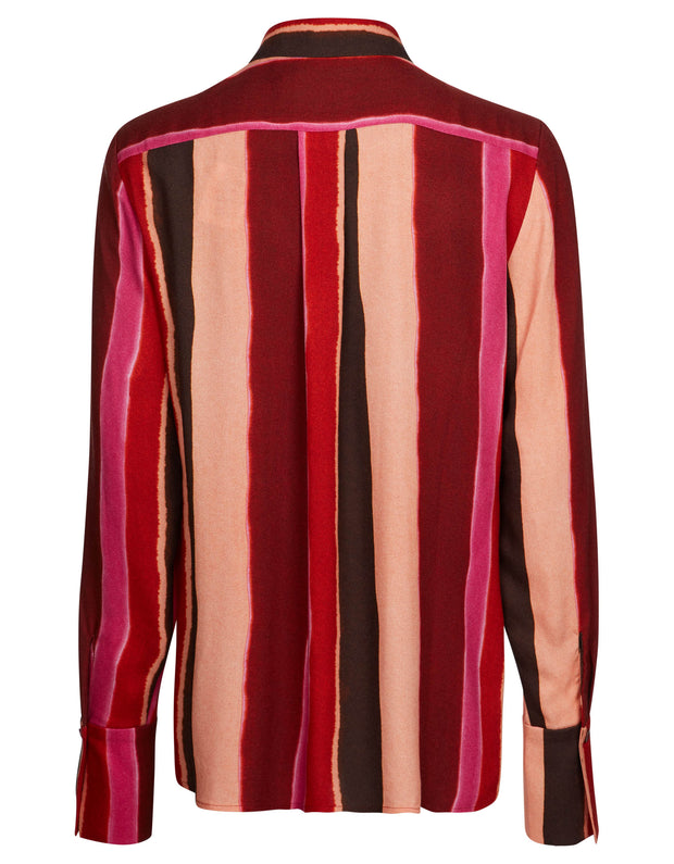 Beverly blouse bright stripes