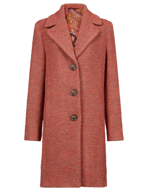 Claire coat new blush