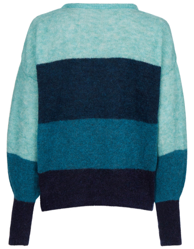 Kymia pullover twilight blue