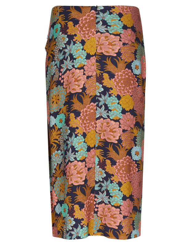 Sheila skirt blooming multi color