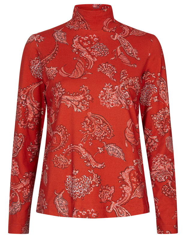 Torstine turtle neck reef paisley