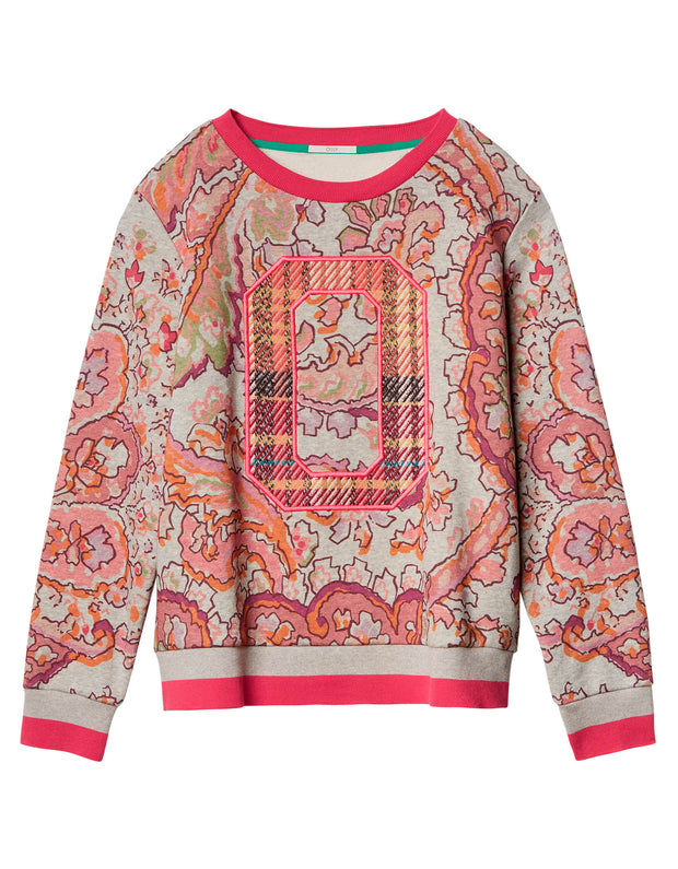 Trix sweatshirt fan paisley