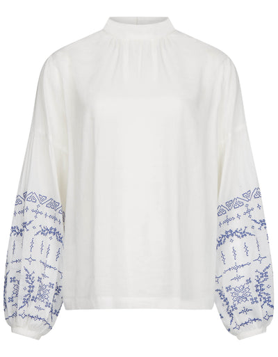 Tenchboxy blouse white