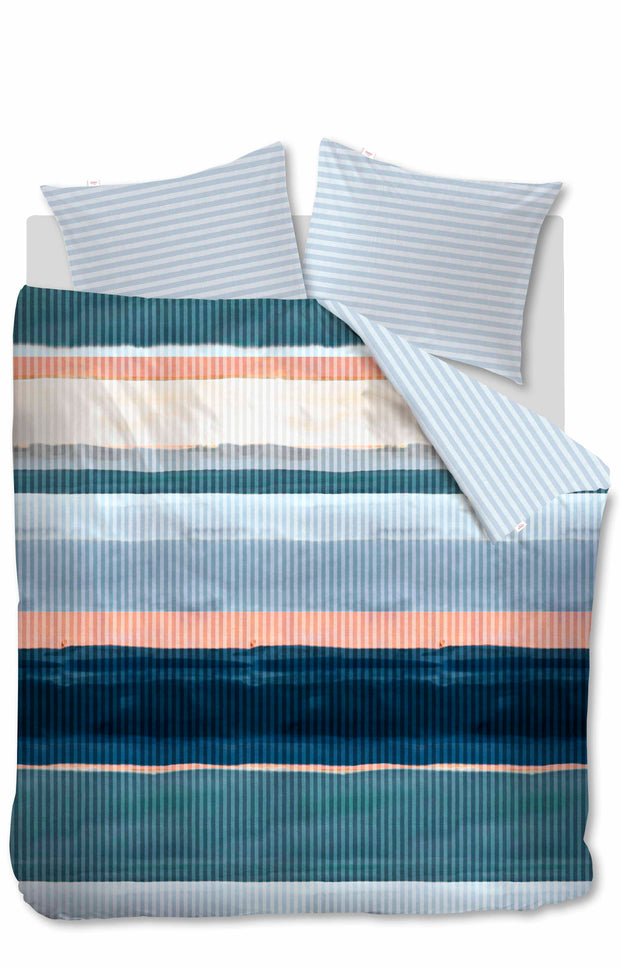 Duvet Cover Overflow - Blauw-Groen-Oilily-140x200/60x70(1)-Oilily.com