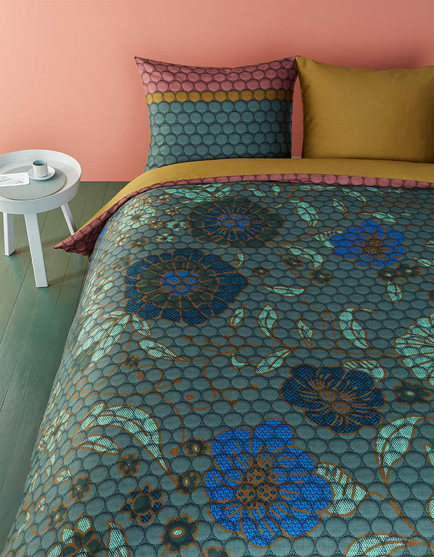 Duvet Cover Shaded Garden Green-Oilily-140x200/60x70(1)-Oilily.com
