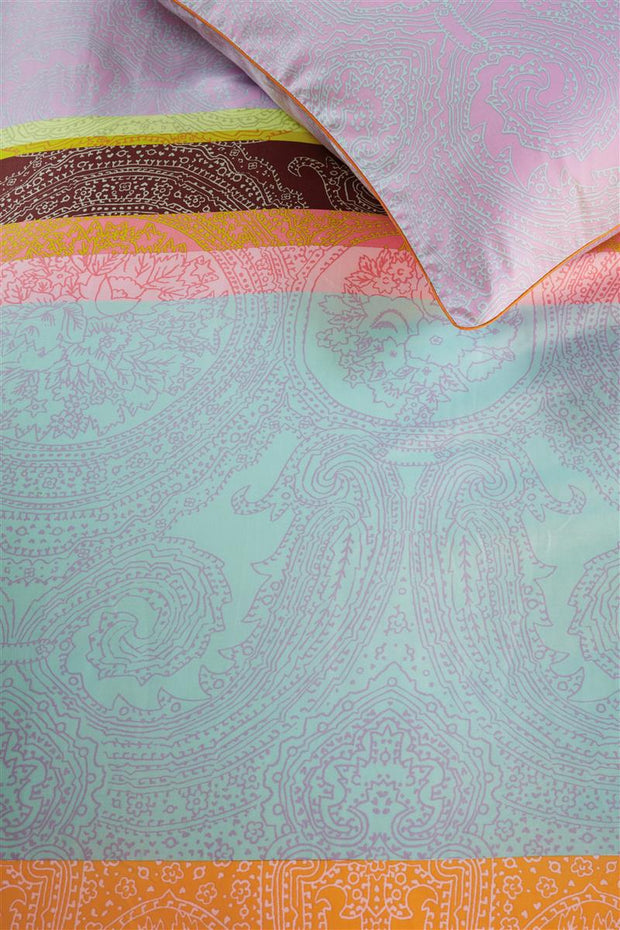 Duvet Cover Paisley Stripes