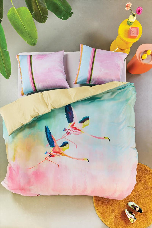 Duvet Cover Colorful Birds