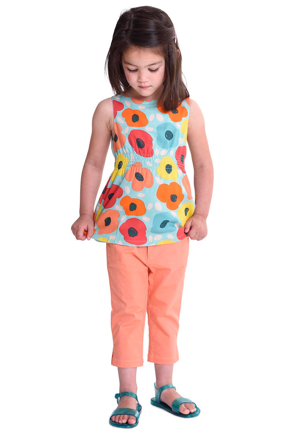 Girls Cotton Pants Trousers Panta-Room Seven-Oilily.com