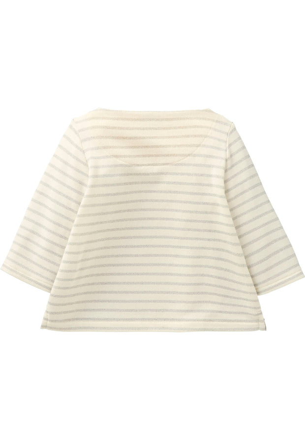 Sweater Hamama for girls white/silver-Room Seven-Oilily.com