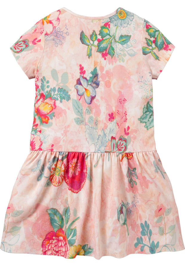 Jersey dress Taramel for girls pink-Room Seven-Oilily.com