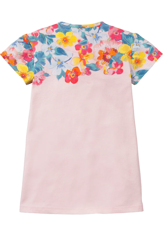 Jersey dress Tatoua for girls pink-Room Seven-Oilily.com