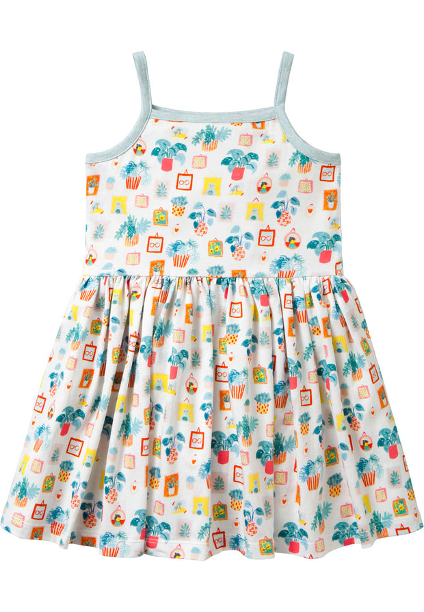 Jersey dress Tela for girls-Room Seven-Oilily.com