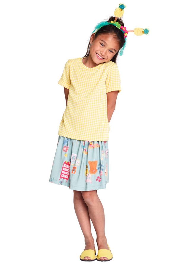 Jersey skirt Tennessee for girls green-Room Seven-Oilily.com