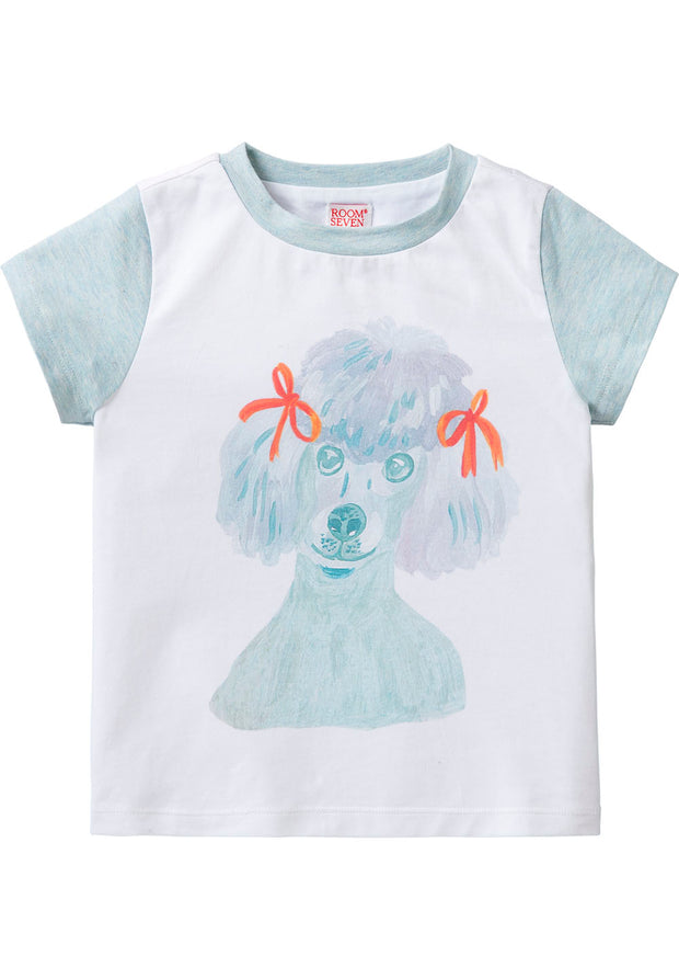 Jersey T-shirt Tino for girls-Room Seven-Oilily.com