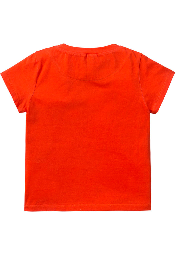 Jersey T-shirt Tino for girls red-Room Seven-Oilily.com