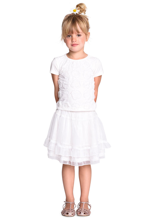 Jersey T-shirt Tink for girls white-Room Seven-Oilily.com