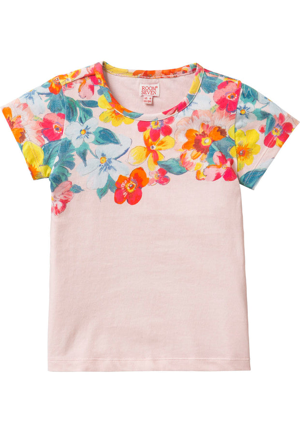 Jersey T-shirt Tins for girls orange-Room Seven-Oilily.com