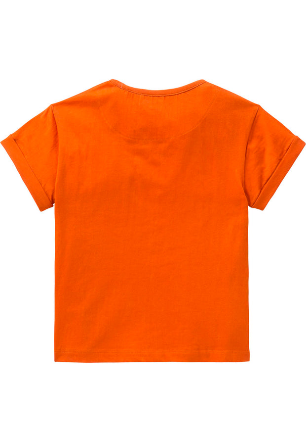 Jersey shirt Tota for girls orange-Room Seven-Oilily.com