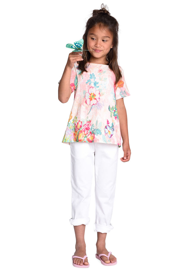 Jersey shirt Triana for girls pink-Room Seven-Oilily.com