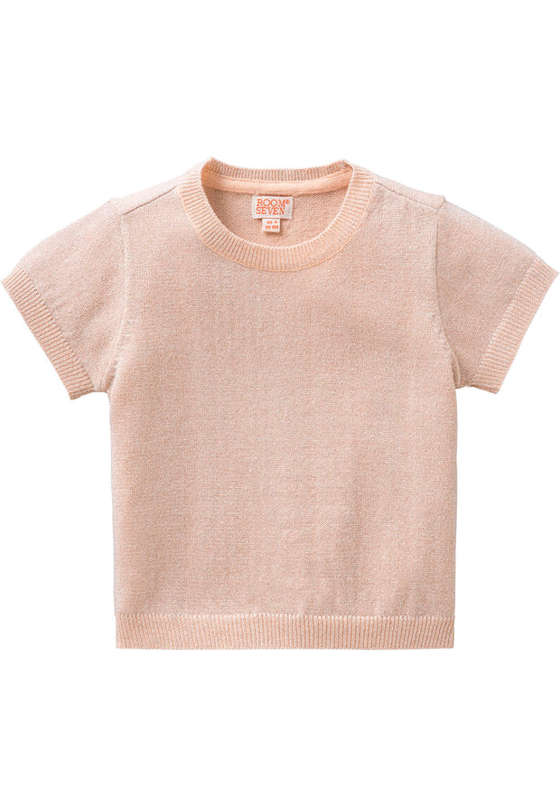 Knitted top Kanela for girls pink-Room Seven-Oilily.com