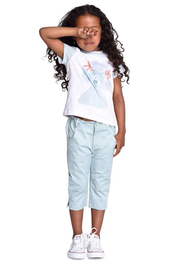 Pants Panta for girls blue-Room Seven-Oilily.com