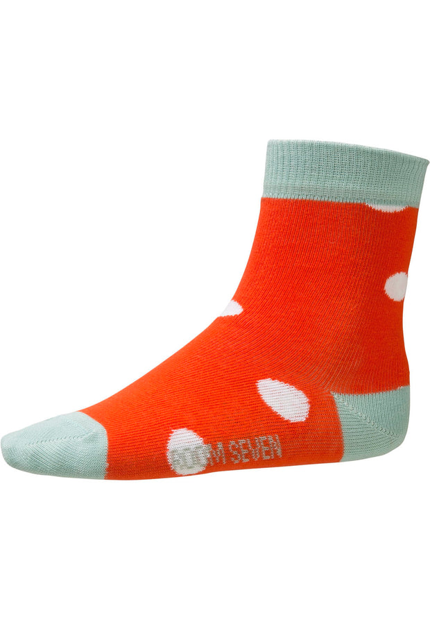 Socks Madeleine for girls red-Room Seven-Oilily.com