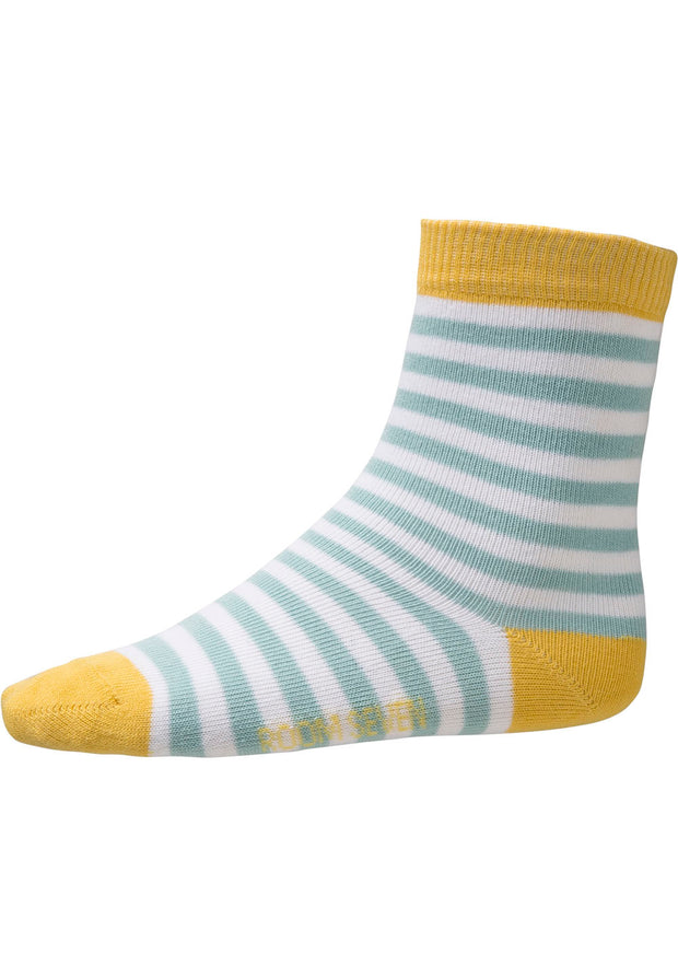 Socks Maria for girls white/green-Room Seven-Oilily.com