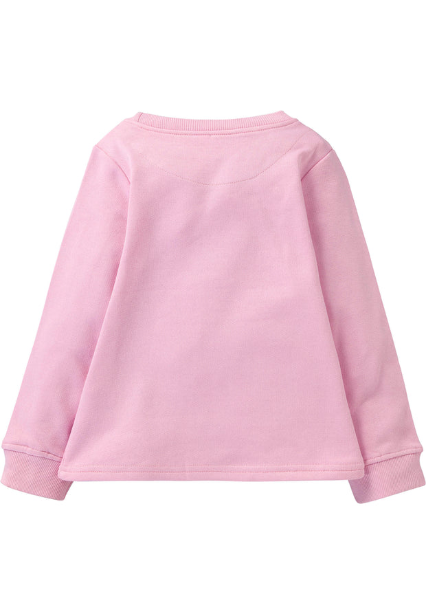 Lovely soft pink sweatshirt with funny text-Room Seven-92-Oilily.com