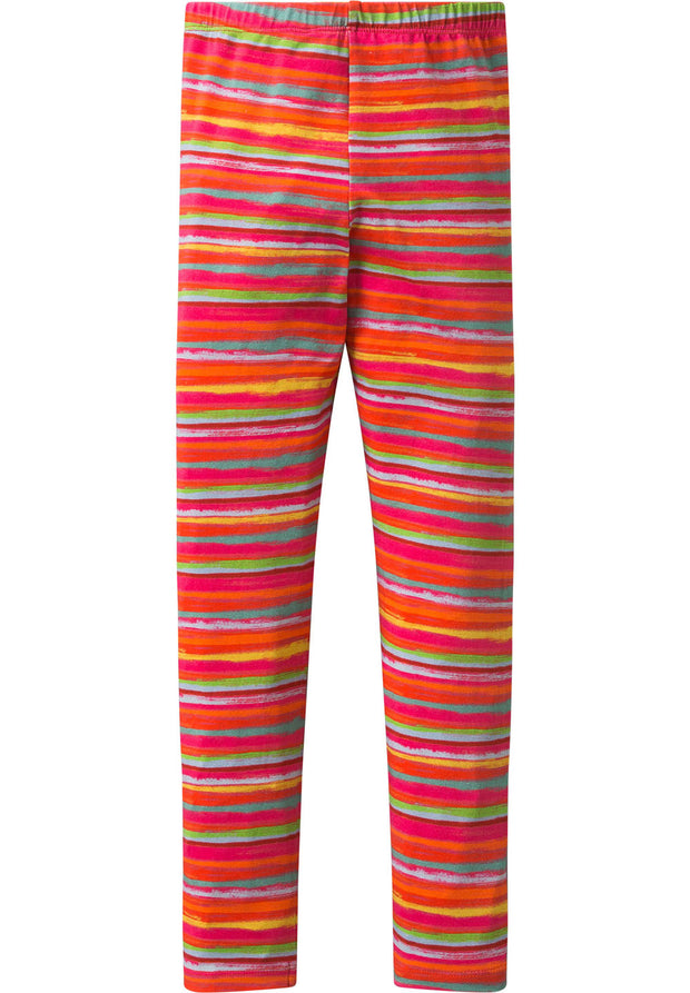 Leggings Tiska red for girls