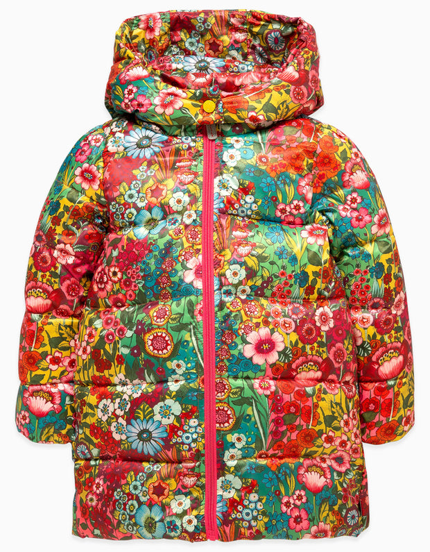 Down Jacket Sea of Flowers