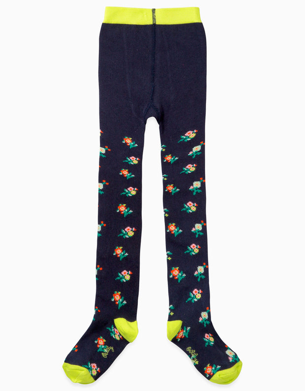 Marrot tights small flowers