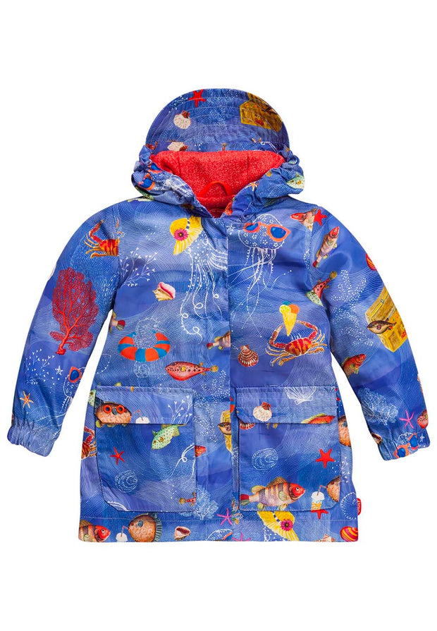 Recycled Polyester Coat Rain Coat Cap-Oilily-92-Oilily.com