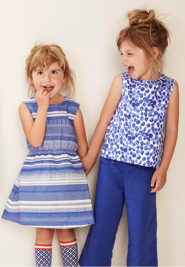 Girls Cotton Dress Diske